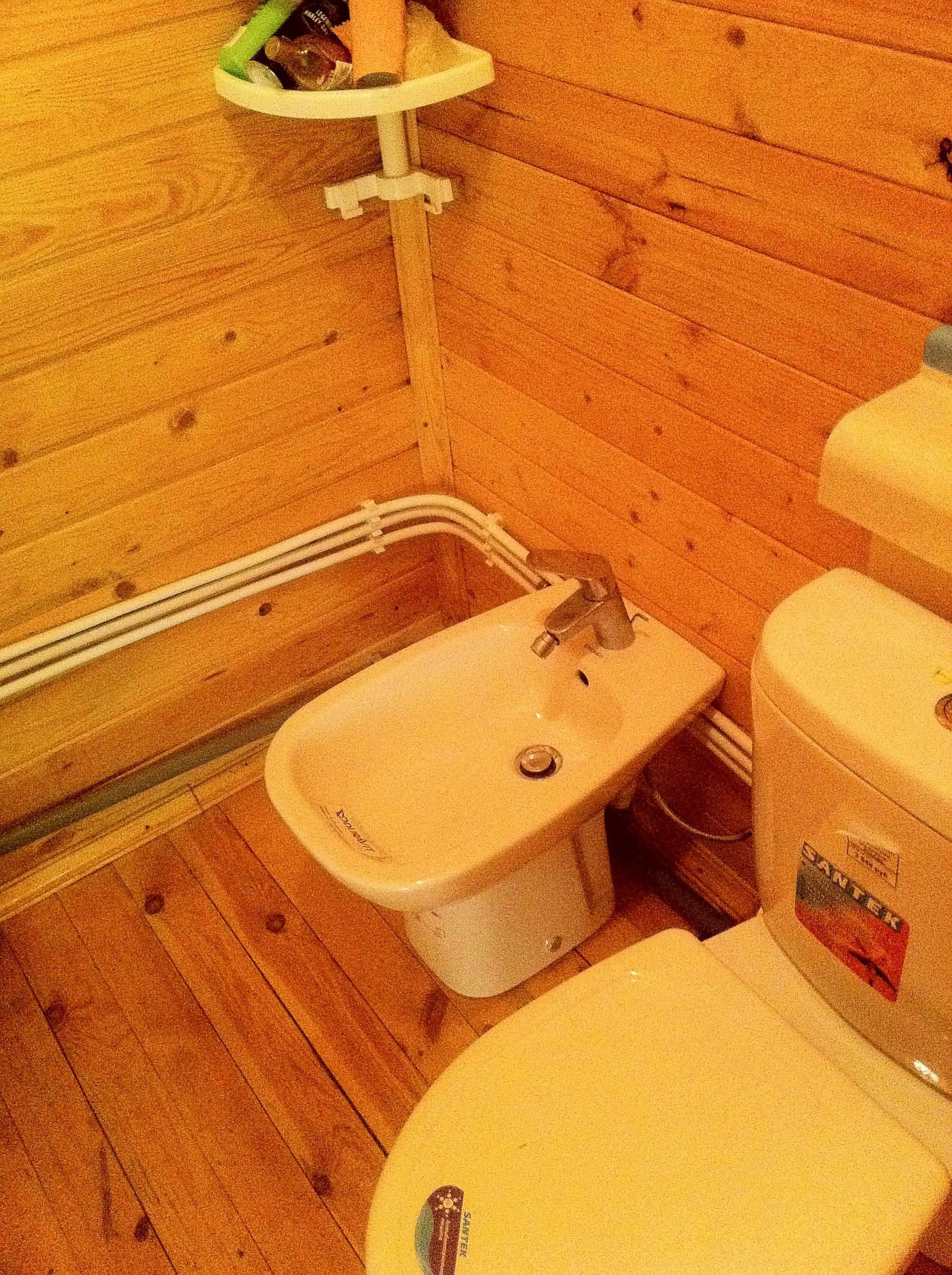 Туалет в частном доме своими руками